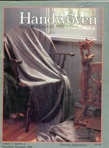 Handwoven magazine nov/dec 1984: rustic fibers for den, paisley, see des... - $11.25