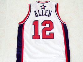 Ray Allen #12 Team USA Men Basketball Jersey White Any Size image 2