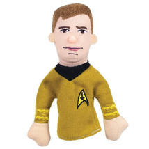 Classic Star Trek Captain Kirk Figure Magnetic Plush Finger Puppet NEW U... - $6.85