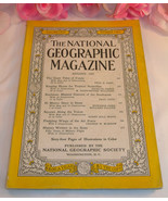 National Geographic Magazine August 1957 Volume CXII No.2 Fundy Butterfl... - $4.99