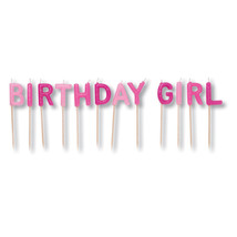 Pick Letter Sets Candles Birthday Girl/Case of 12 - ₨3,449.67 INR