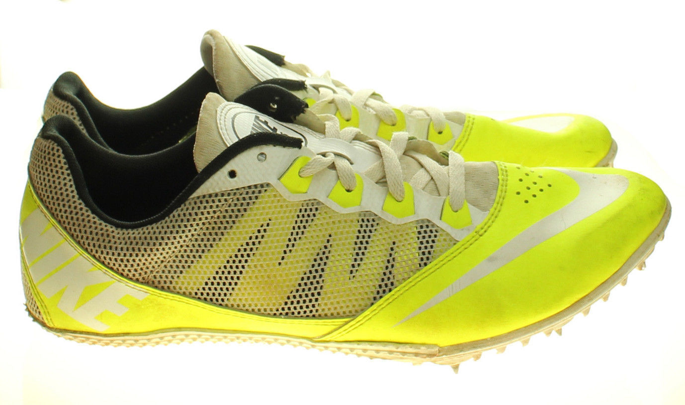 check out c353b 7796a 57. 57. Previous. NIKE RIVAL S 616313-702 Track   Field Spikes Yellow White  Mens Shoes Size 10
