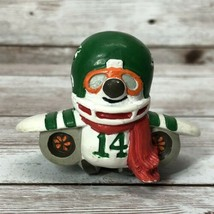 "Vintage 1983 NFL Huddles New York Jets PVC Figure Mascot 2"" Hong Kong #2 - $59.35"