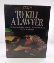 """Bepuzzled A Mystery Jigsaw Thriller With Secret Image """"To Kill A Lawyer""""... - $12.86"""