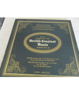 The Basic Library Of The World's Greatest Music No. 10 Record Album  - $5.00