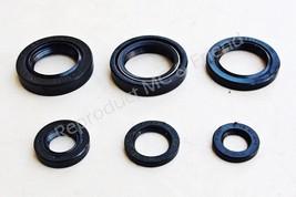 Yamaha DT125 DT125MX DT175 MX125 MX175 Oil Seal Kit Set (6 pcs.: set) New - $15.67