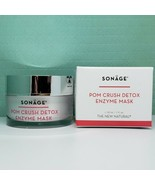 Sonage Pom Crush Detox Enzyme Mask (Cruelty Free) - FULL SIZE (1 oz) New... - $19.99