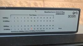3Com 3CRBSG2893 2928 SFP PLUS 24 Port Network Switch Gigabit Baseline switch - $93.10