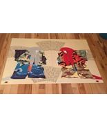 Vtg Hisashi Otsuka Print - Red Lion & White Lion Kabuki Dancer - 2 prints - $1,299.00