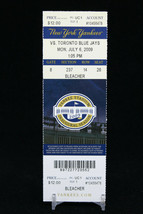 New York Yankees vs Toronto Blue Jays MLB Ticket w Stub 07/06/2009 Inaug... - $8.08