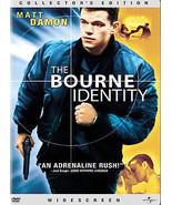 The Bourne Identity (DVD, 2003, Widescreen) - $1.95