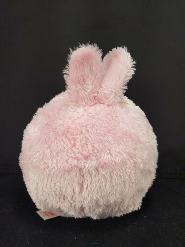 "TY Easter Bunny Rabbit Carnation Pink Purple Beanie Ballz Plush Stuffed 5"" Soft image 4"