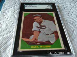 1960   FLEER   #  48    HACK  WILSON    SGC  80     BASEBALL  GREATS   !!  - $24.99