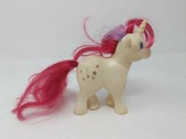 My Little Pony G1 Unicorn Moondancer Moon Stars VTG 1983 83 80s White Re... - $7.91