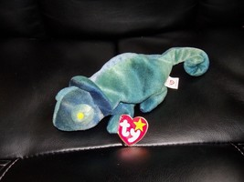 TY Beanine Baby Rainbow The Chameleon NEW LAST ONE - $26.40