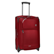 """Birmingham Red 25"""" Water Resistant Rugged Rollaboard Rolling Luggage Sui... - $79.19"""