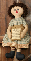 Primitive Decor 3D3313-A True Friend Rag Doll - €22,72 EUR