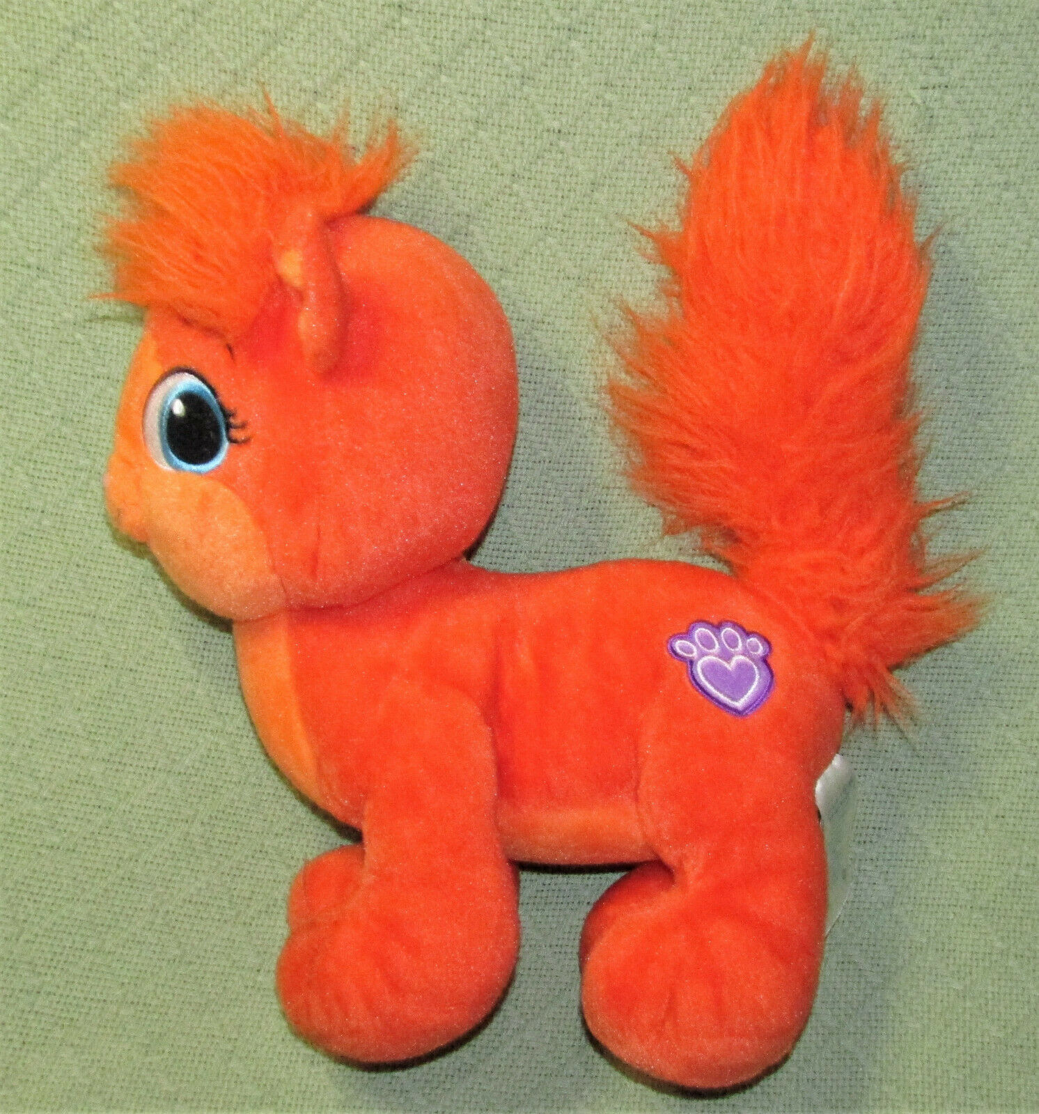 "Primary image for 12"" BUILD A BEAR DISNEY TREASURE ARIEL CAT ORANGE STUFFED ANIMAL LITTLE MERMAID"