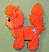 "12"" BUILD A BEAR DISNEY TREASURE ARIEL CAT ORANGE STUFFED ANIMAL LITTLE ... - $19.80"