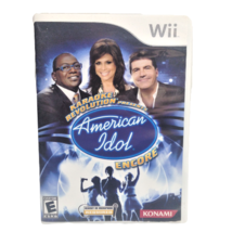 Karaoke Revolution Presents: American Idol Encore Nintendo Wii 2008 Sing... - $8.79