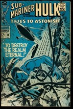 TALES TO ASTONISH #98-SUB-MARINER/HULK-MARVEL 12 CENT G/VG - $18.62