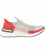 Adidas Men's UltraBoost 19 White/Active Orange F35245 - $153.90