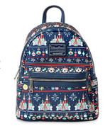 Disney Parks Mickey Mouse Holiday Loungefly Mini Backpack SOLD OUT - $121.54