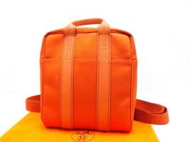 Y8892 Hermes Acapulco sack ad backpack bag Auth - $1,450.33