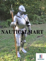 Medieval Knight Suit Of Armor Combat Full Body Halloween Costume  - $1,099.00