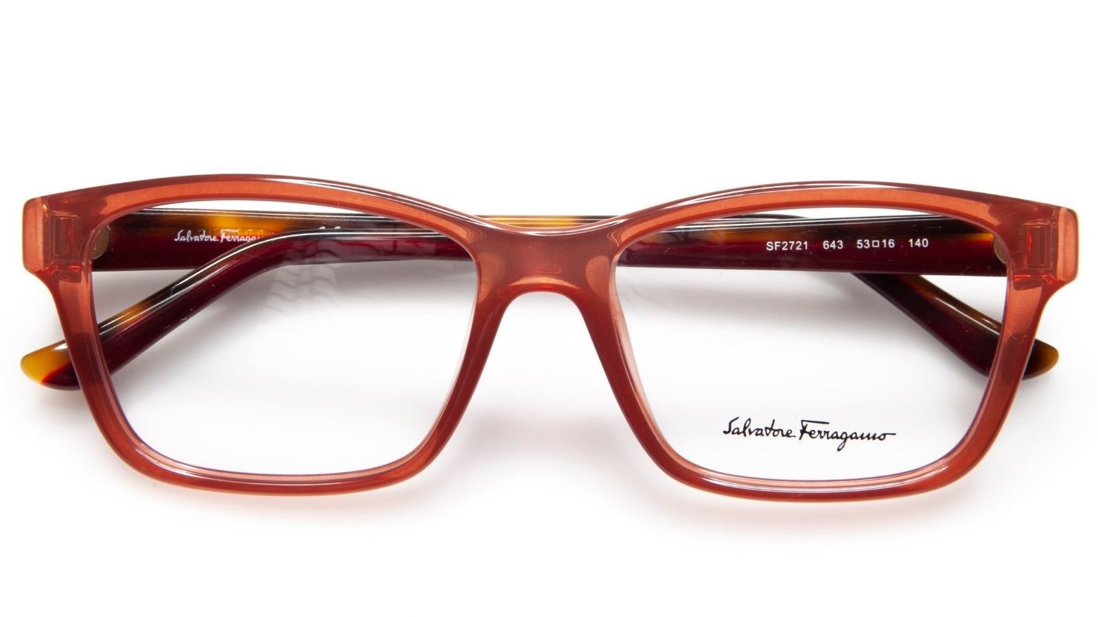 7ef1563f8f ... NEW Salvatore Ferragamo SF2721 643 ANTIQUE ROSE EYEGLASSES 53-16-140  B38mm Italy ...