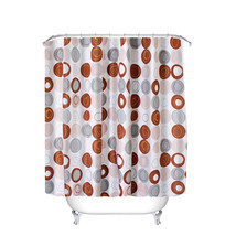 Modern City Alphabet Bathroom Shower Curtain White Cartoon Waterproof Designer S - $27.99