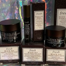 NIB Fresh Black Tea Age Delay Eye Serum Concentrate Overnight Firming Corset image 2