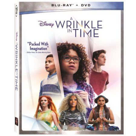 Disney A Wrinkle in Time [Blu-ray+DVD, 2018] New