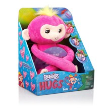 WowWee Fingerlings Hugs - Bella Pink Baby Monkey Interactive Plush - 40+... - $39.99