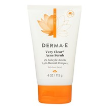 Derma E - Very Clear Cleansing Scrub - 4 fl oz. - $13.99