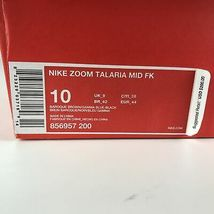Nike Zoom Talaria Mid Flyknit Brown Gamma Blue Men's size 10 856957 200 NEW image 8
