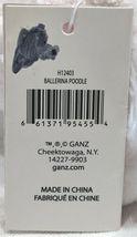 GANZ H12403  White Ballerina Poodle Purple Tutu 7 inch Ages 3 Plus image 6