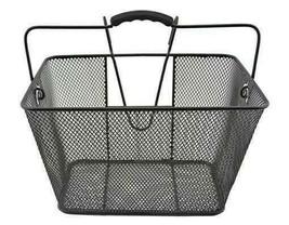 PREMIUM 15 x 10 x 9.25 Square Steel Wire Basket 333 Black - $31.44