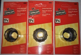 "Vermont American #18322 1-3/8"" Carbon Hole Saw (3pcs) - $4.16"