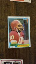 1981 TOPPS SIGNED AUTO CARD WILBUR JACKSON WASHINGTON REDSKINS 49ERS ALA... - $9.89