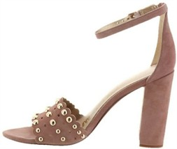 Sam Edelman Yaria Suede Sandal Studs ROSE 8.5M NEW 614-199 - $107.89
