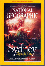 National Geographic August 2000 Sydney Olympic City - $3.99