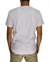 NEW DIESEL MEN'S PREMIUM COTTON GRAPHIC LOGO T-SHIRT T-ADAL TOTAL REALNESS WHITE image 4