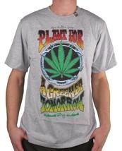 LRG Gray or White Plant For A Greener Tomorrow Weed Marijuana T-Shirt Medium NWT