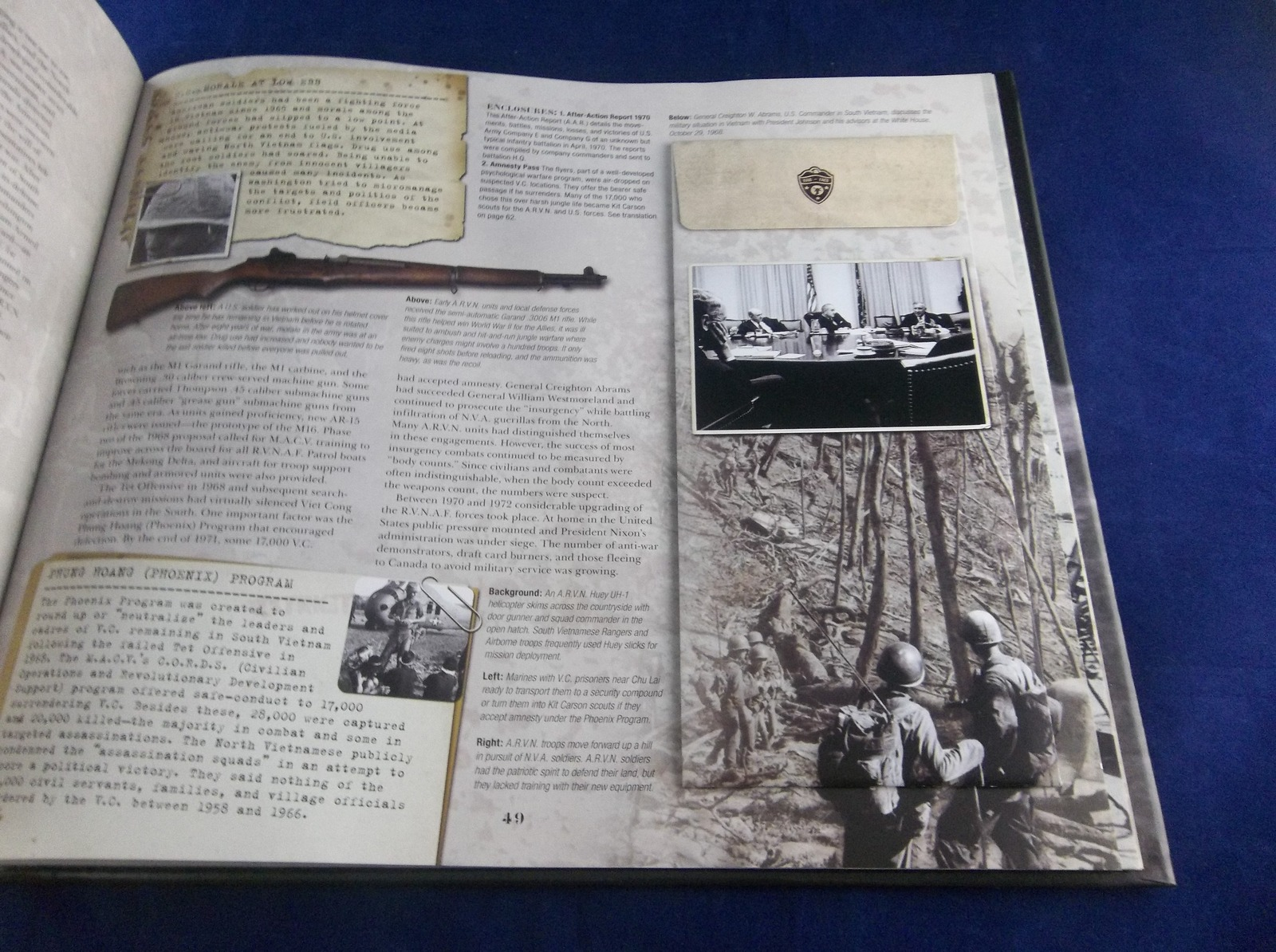 The Vietnam War Experience Gerry & Janet Souter 2007 Collector Edition Book