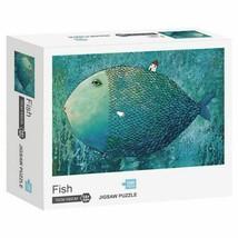 Hao Xiang Fish 1000 Piece Mini Jigsaw Puzzle ~Brand New~ - $9.99