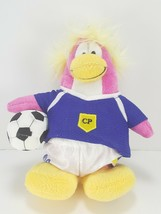 Disney Club Penguin Pink Blue Series 1 Plush Soccer Player Stuffed Anima... - $9.89