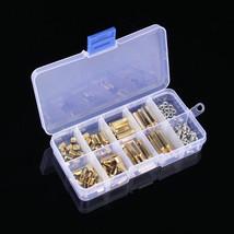 120Pcs/Set M3 Male Female Brass Standoff Spacer PCB Board Hex Screws Nut... - $19.95