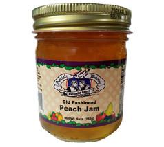Amish Homemade Peach Jam - 9 oz - 2 Jars - $15.88