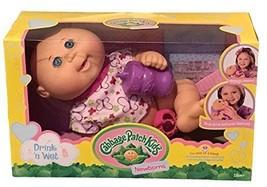 Cabbage Patch Kids Drink N' Wet Newborn Baby Doll Butterfly - $44.97